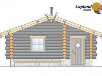 Lapland Sauna 3 edestä