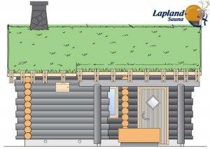 Lapland Sauna 4 edestä