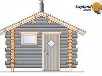 Lapland Sauna 1 edestä