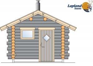 Lapland Sauna 1 front