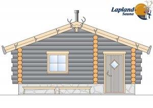 Lapland Sauna 3 front