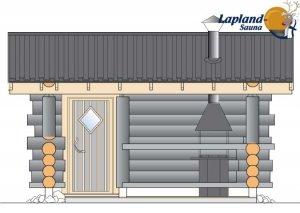 Lapland Sauna 2 front